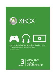 Xbox Live-Microsoft Xbox Live Gold Membership 3 months An Xbox Live Gold Membership is your passport to the complete entertainment experience that is MicrosoftÙs market-leading online service Xbox Live!With your Xbox 360/Xbox One connected to broadband t http://www.MightGet.com/february-2017-1/xbox-live-microsoft-xbox-live-gold-membership-3-months.asp