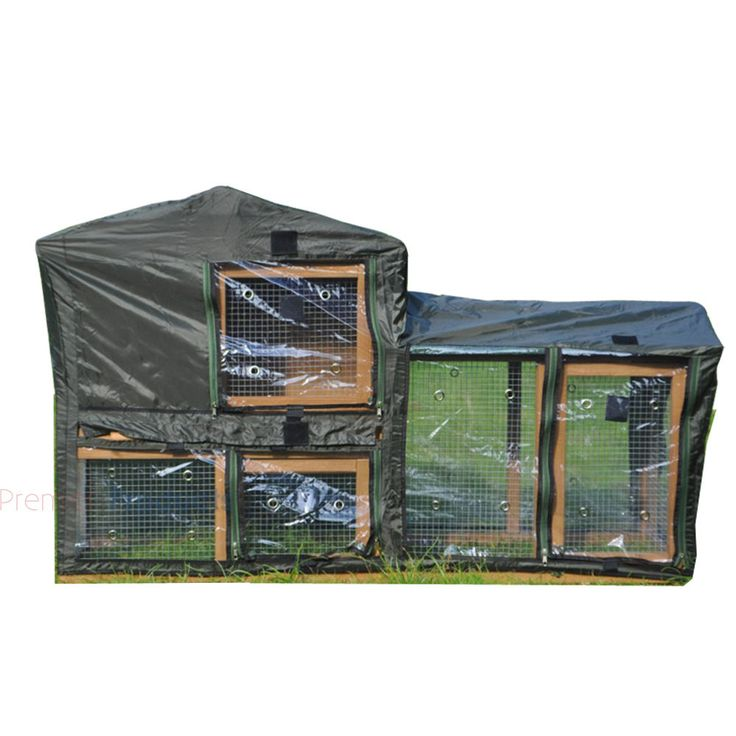 RABBIT HUTCH COVER / GUINEA PIG / DELUXE PET COVERS