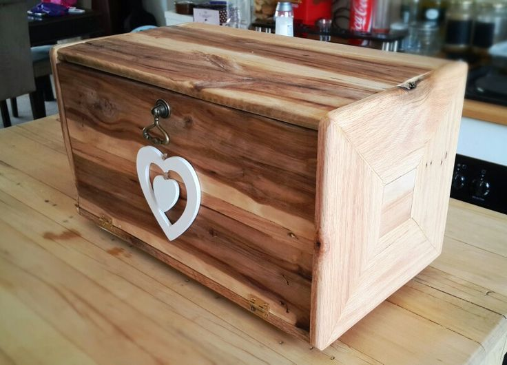 Bread Box made by my dear husband! #breadbox