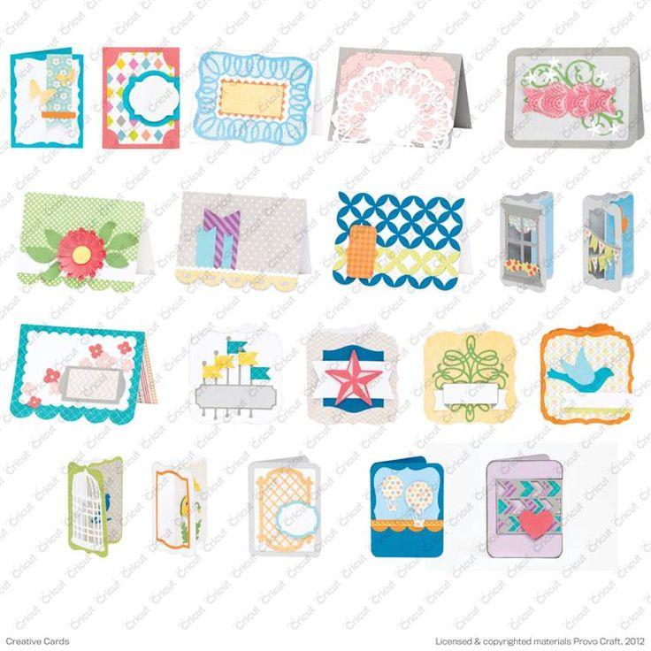 Best cricut creative cards cartridge images on pinterest