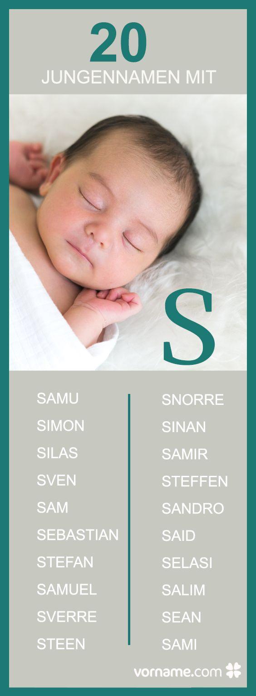 Bei uns findest Du beliebte und außergewöhnliche Vornamen mit S!