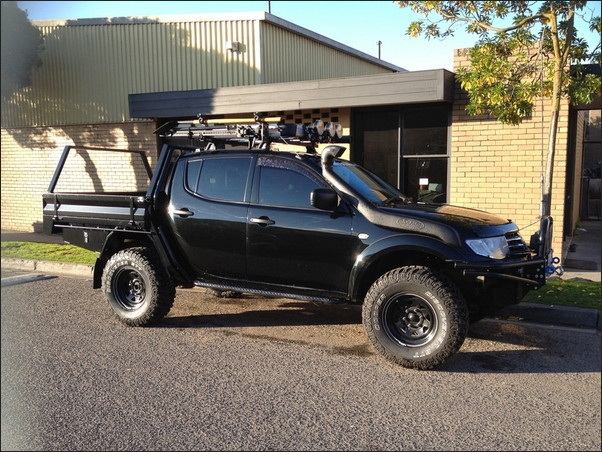 Custom Triton Ute Trays are made custom to suit a Mitsubishi Triton 2006 ML to current model MN.