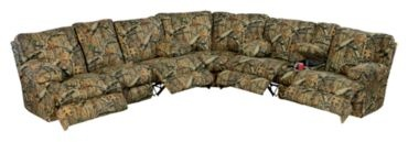 Catnapper® Camo Living Room Sofa. I so want this in my home :)