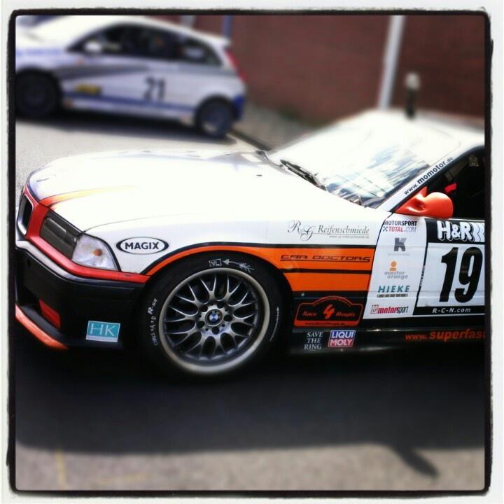 #BMW 325i von Master Orange in Bremerhaven beim Der Hafen #Rallye