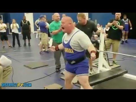 Weightlifter with Down's Syndrome bench presses over 400 lbs. || AmazingLife247 - YouTube