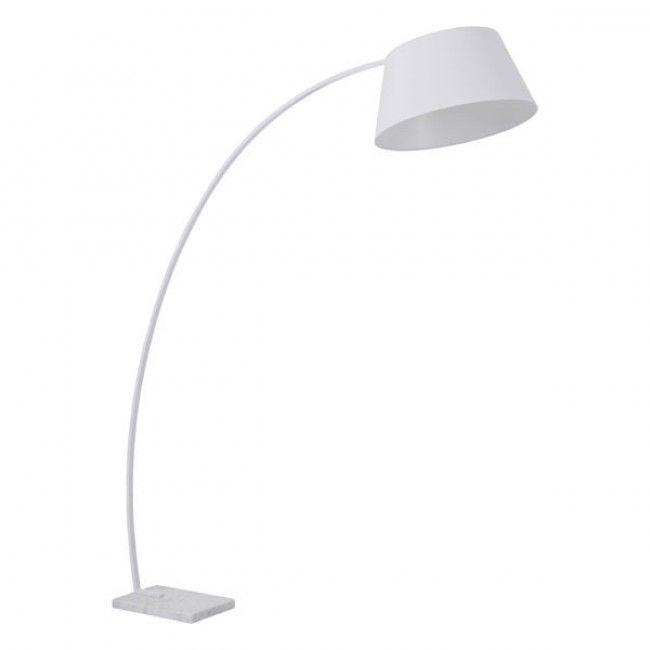 Vortex floor lamp white