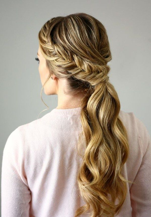 easy ponytail styles for long hair discover 17 best ideas about ponytail hairstyles on 7794 | a9b9f94d25b48d8002548a5438b1c2b1
