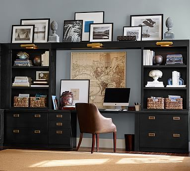 Reynolds Home Office Suite #potterybarn