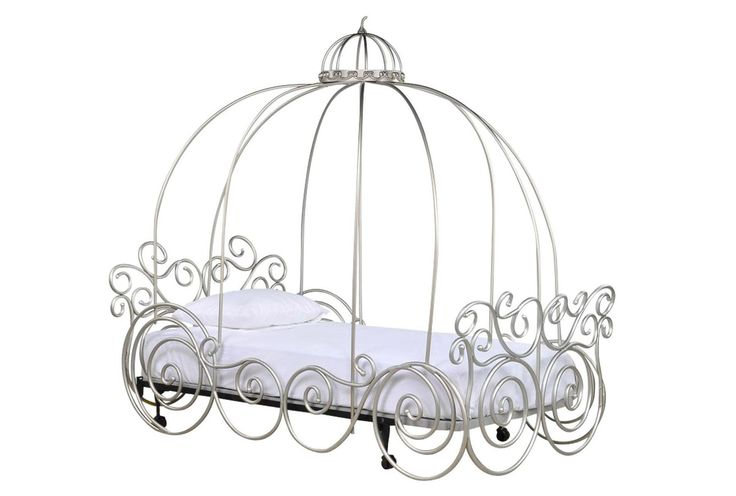 Disney Princess Twin Carriage Bed - Signature