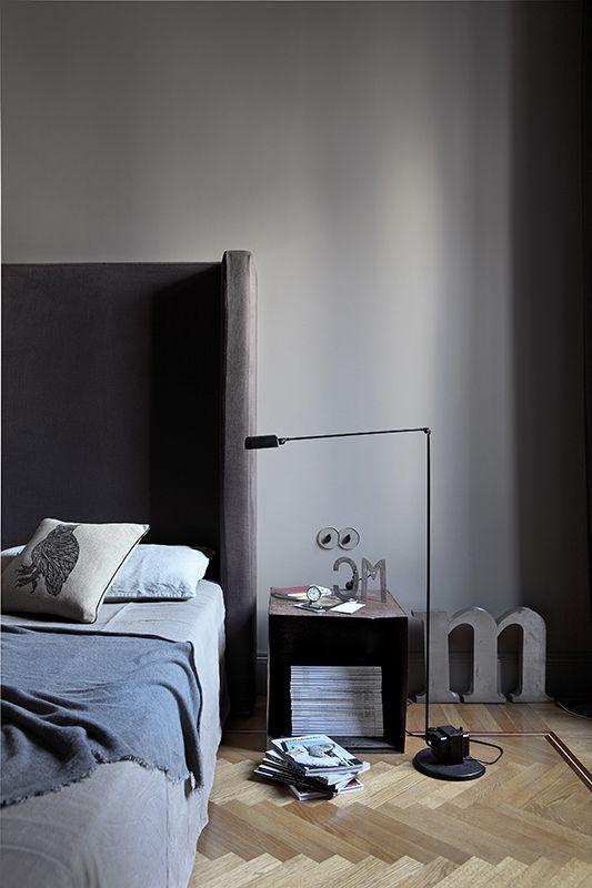Квартира в сером цвете | Пуфик - блог о дизайне интерьера