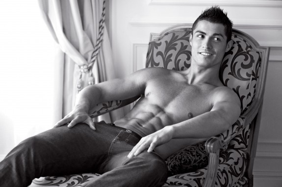 Cristiano Ronaldo-had to get a hispanic man up in here. MMmmmmmm :p