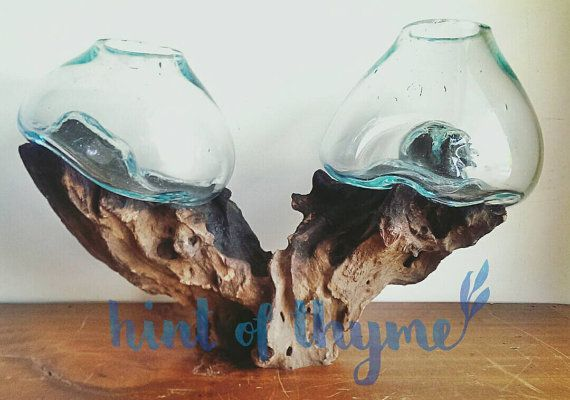 Check out this item in my Etsy shop https://www.etsy.com/au/listing/253510904/blown-glass-bowl-on-natural-teak-wood