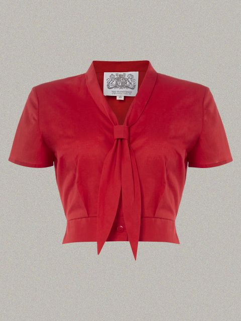 1940s sailor inspired 40s classic Seamstress of Bloomsbury Vintage Blouse