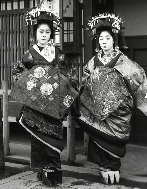 Oiran at the turn of the century