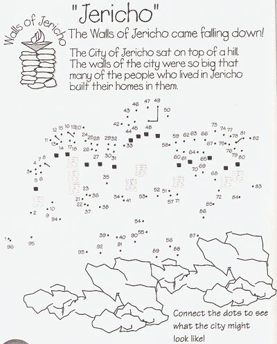 Walls of Jericho Craft | Jerichos Walls Fall Down