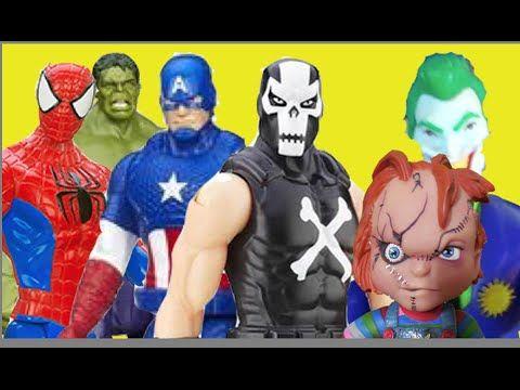 Ossos Cruzados Crossbones Capitão América Homem Aranha Hulk  Coringa Chu...