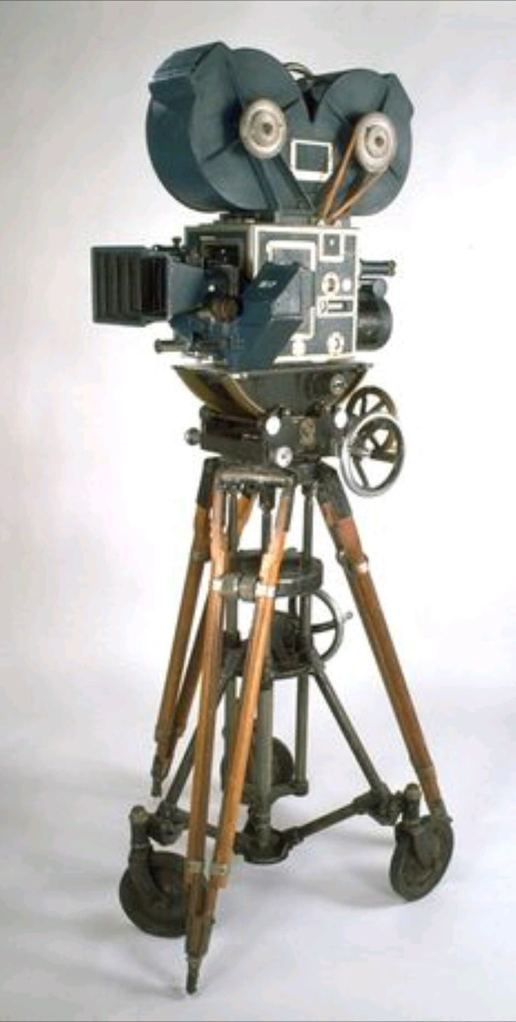 Early movie making camera