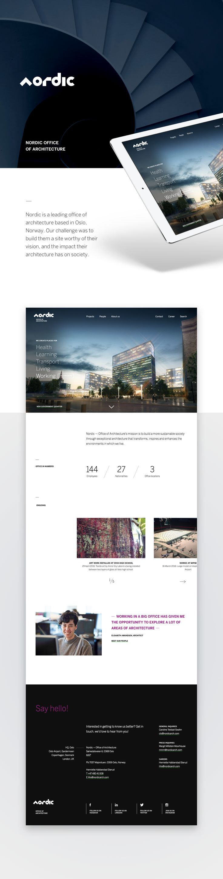 Nordic – Office of Architecture on Behance