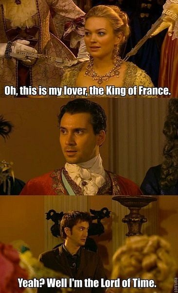 Beat that mr. king of france!