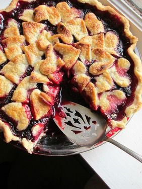 Marionberry Pie with shortbread crust, a recipe on Food52