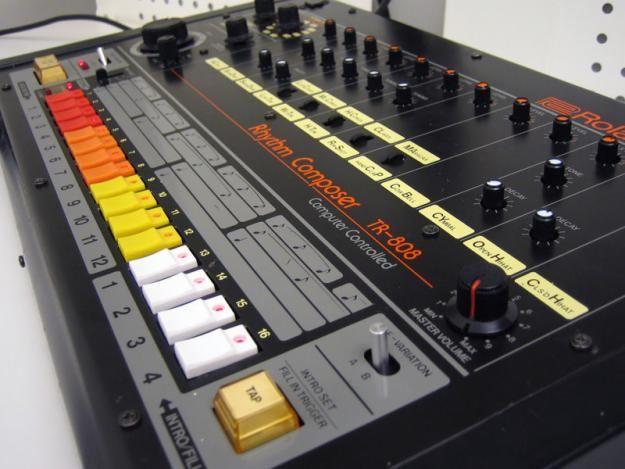 Roland TR-808.  http://open.spotify.com/user/marborelius/playlist/6367mjOJQxcmdGasYmqp4B