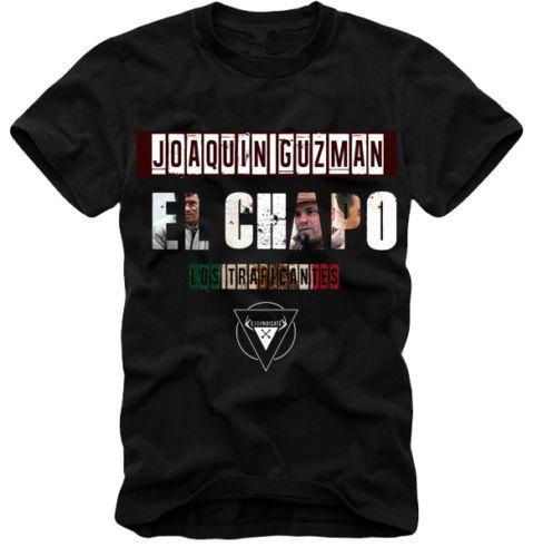 2017 New Arrivals King Of Coke Pablo Escobar Narcos Men's T Shirt Hip Hop Camisetas Tee Shirt JOAQUIN GUZMAN EL CHAPO Weed