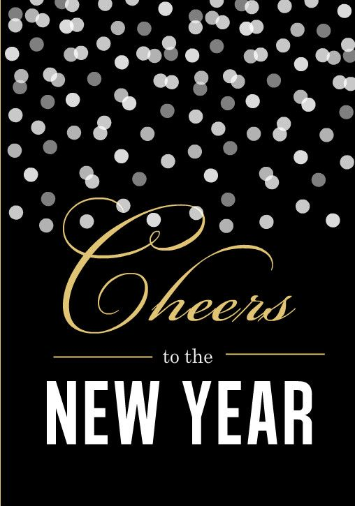 Cheers to the New Year! May you all have a Blessed one !!