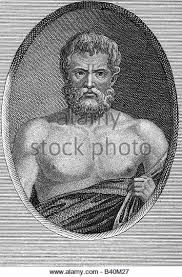Zeno (335-263BCE) - Zeno was the founder of the Stoic school of philosophy, which he taught in Athens from about 300 BC. Based on the moral ideas of the Cynics, Stoicism laid great emphasis on goodness and peace of mind gained from living a life of Virtue in accordance with Nature.