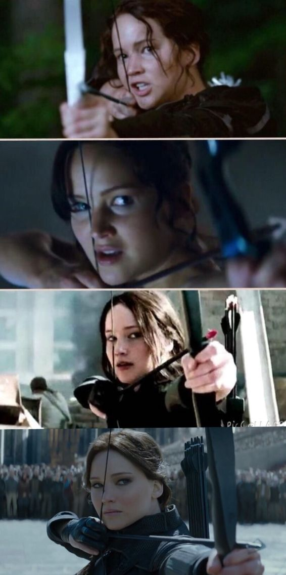 The hunger games ~ Catching fire ~ Mockingjay part 1 ~ Mockingjay part 2