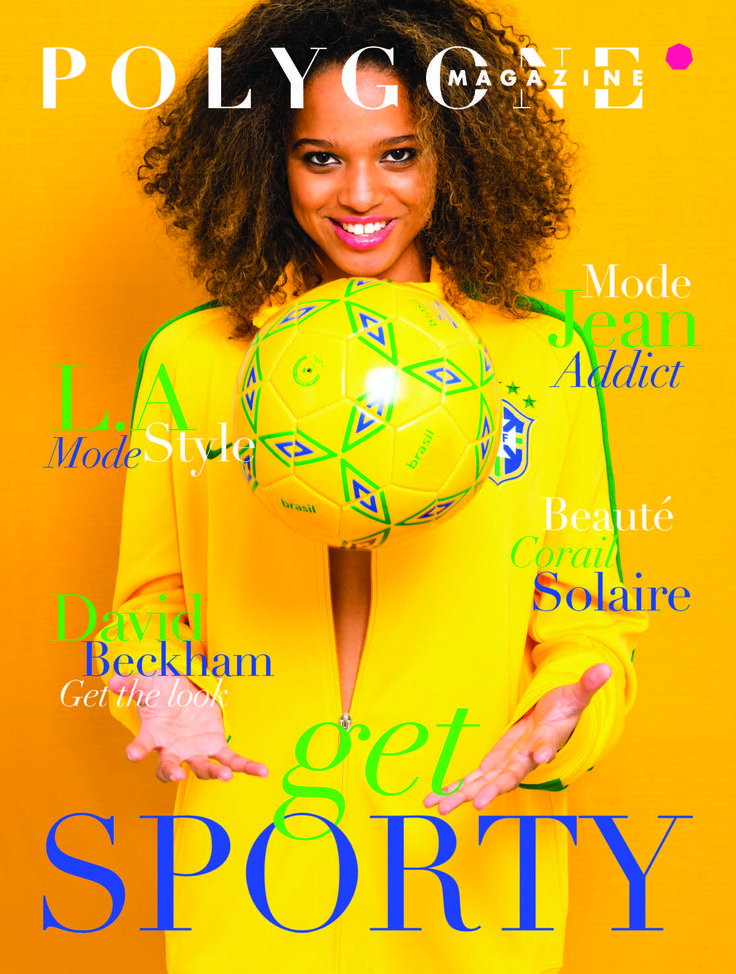"#magazine POLYGONE Printemps-Été spécial ""SPORTY"""