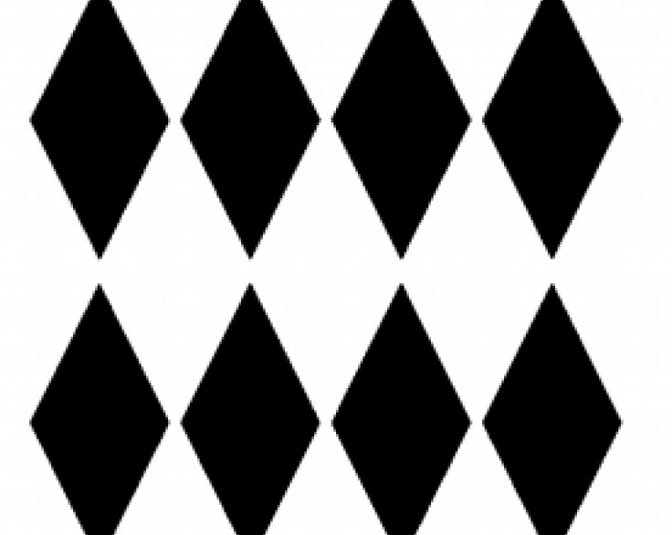 Harlequin, Diamond, Pattern