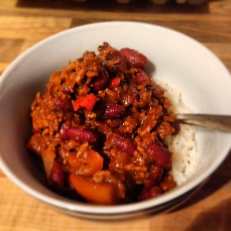 Sugar Pink Food: Recipe: Slimming World Chilli Con Carne