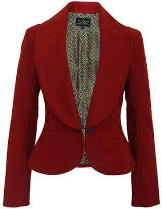 Elegant, feminine, red
