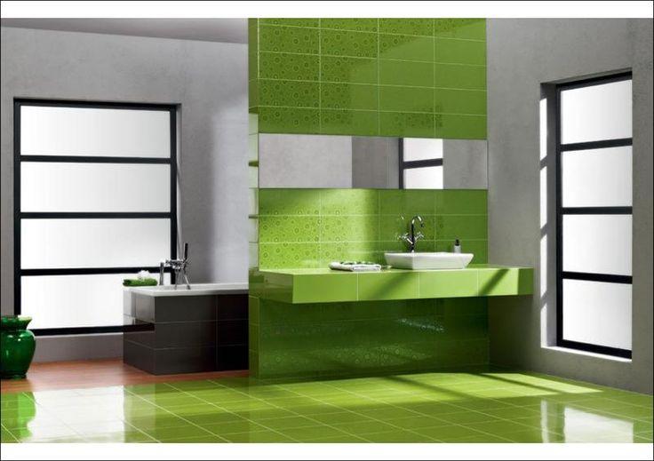 #glazura #płytkiceramiczne #zielony #jasny #ceramictile #glaze #green #light