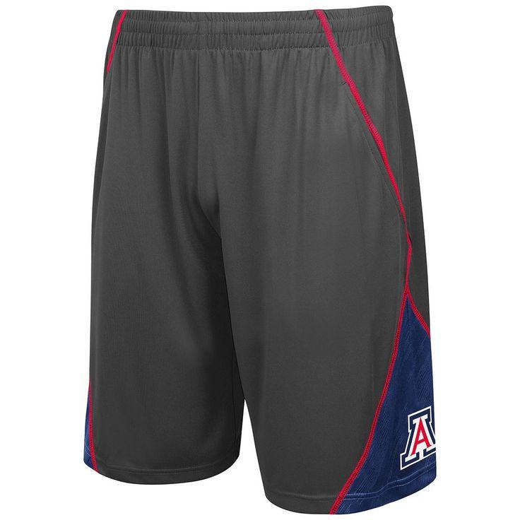 Men's Campus Heritage Arizona Wildcats V-Cut Shorts, Size: Small, Blue (Navy)