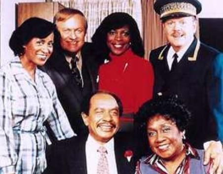 the jeffersons | Some of the cast members of The Jeffersons . Front: Sherman Hemsley ...