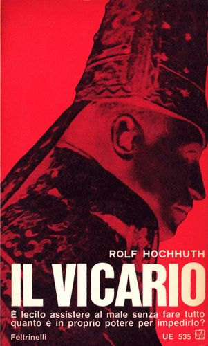 Rolf Hochhuth  Il Vicario