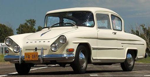 Argentinian '60's Zunder 1500 Concept Car.-(Zunder is German for Spark).