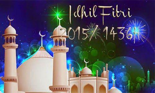 Kartu Ucapan Lebaran Hari Raya Idul Fitri 1436H/ 2015 4