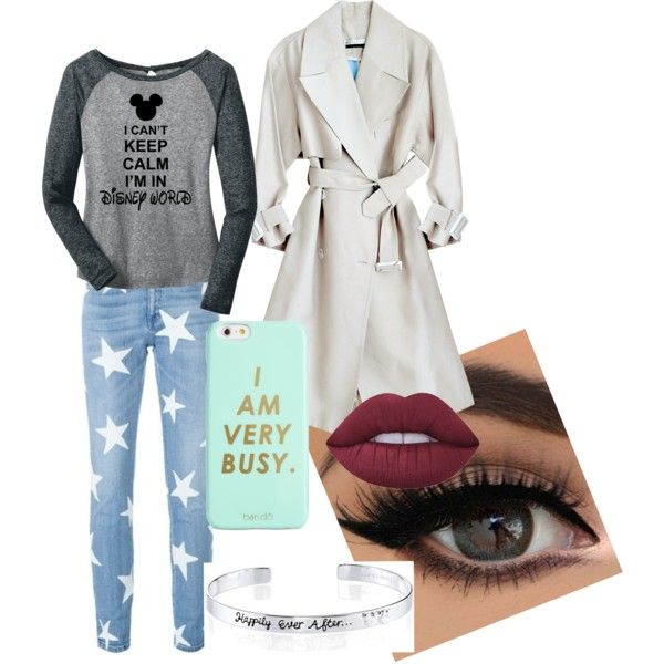 insert unknowing shrug by becfinck on Polyvore featuring STELLA McCARTNEY, Disney, ban.do and Lime Crime
