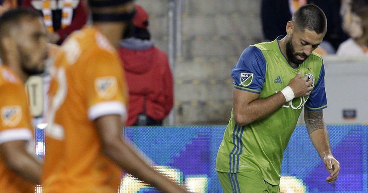 Clint #Dempsey Scores In His #SeattleSounders Return After Six Months Out. #ClintDempsey made a triumphant return to #MajorLeagueSoccer. #MLS #soccer #soccerplayers #goal