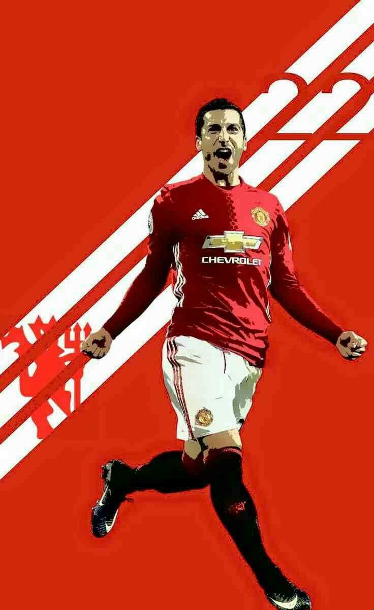 Hendrik Mkhitaryan of Man Utd wallpaper.