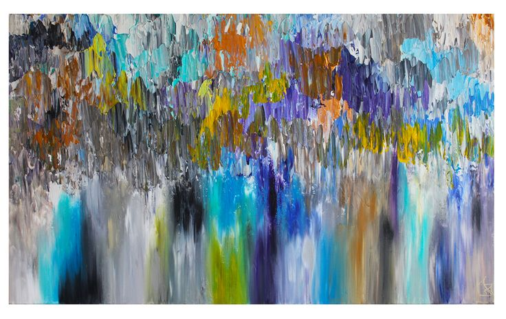 Untitled 106 24x40 acylic on canvas