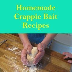 This is a Homemade Crappie Bait Recipe that will help your reel the crappie in. It is easy to make and fun for the family.