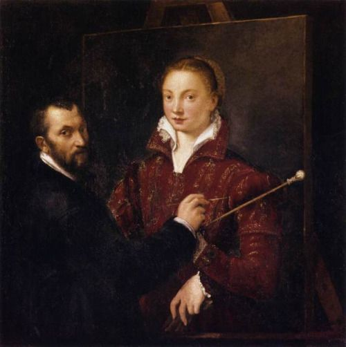 Sofonisba Anguissola (c.1532 – 16 November 1625), also known as Sophonisba Angussola or Anguisciola,[1][2] was an Italian Renaissance painter born in Cremona to a relatively poor noble family. She received a well-rounded education, that included the fine arts, and her apprenticeship with local painters set a precedent for women to be accepted as students of art.
