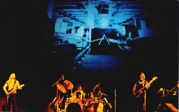 Pink Floyd Three Rivers Stadium, Pittsburgh, USA 20.06.1975