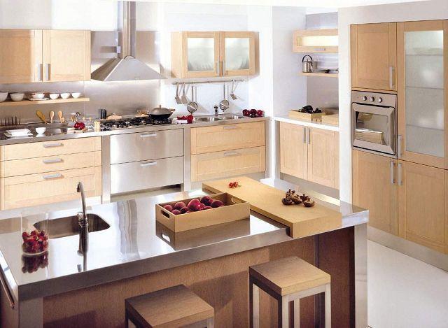 cocinas modernas con isla.