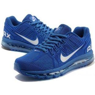 http://www.asneakers4u.com/ Discount 2013 Nike air max mens&womens sneakers blue sz 36 45