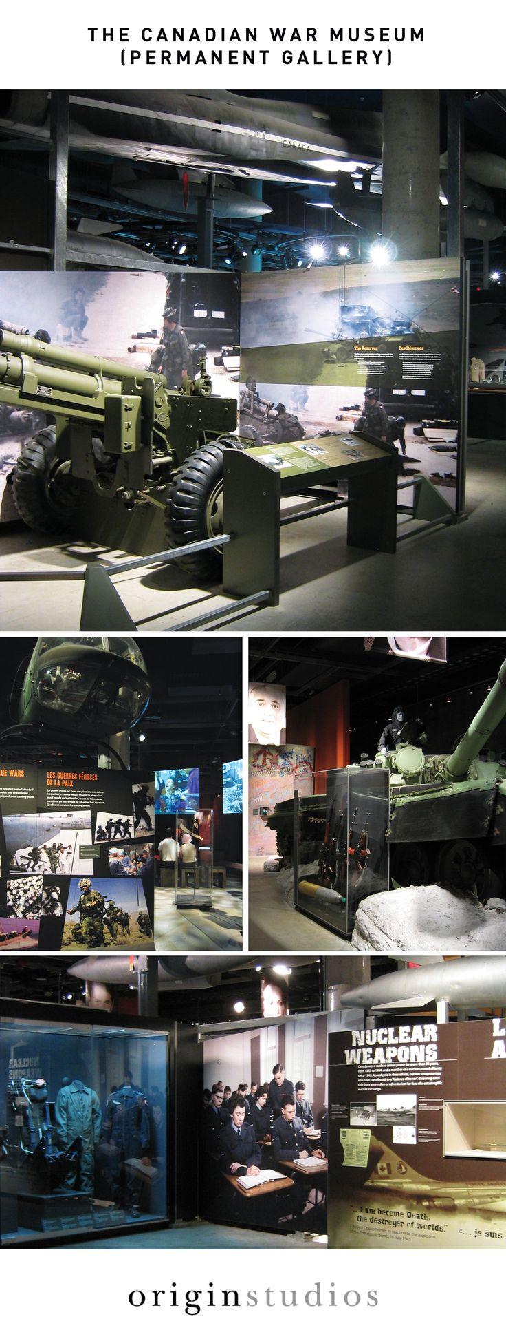 Museum Exhibit, Permanent Exhibitions, Canadian War Museum, Designed by: Origin Studios