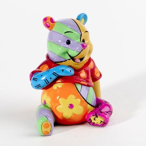 Romero Britto Disney Winnie the Pooh Bear Mini Pop Art Figurine.n My 2 favorite things come together! want